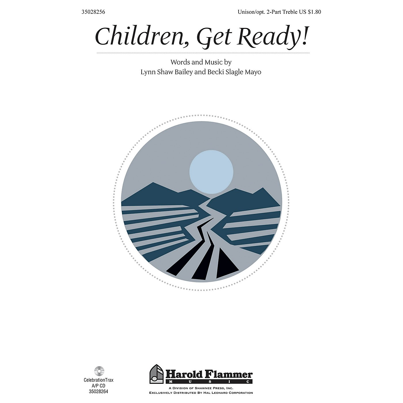 Shawnee Press Children, Get Ready! UNIS/2PT composed by Lynn Shaw Bailey thumbnail