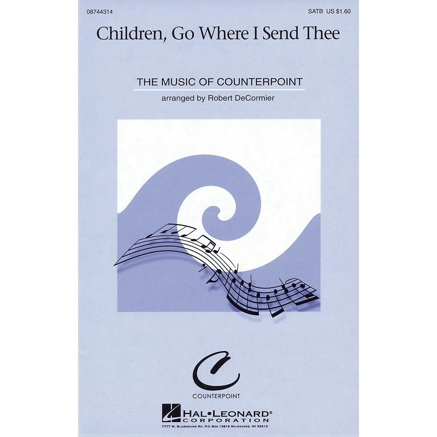 Hal Leonard Children, Go Where I Send Thee SATB arranged by Robert DeCormier thumbnail