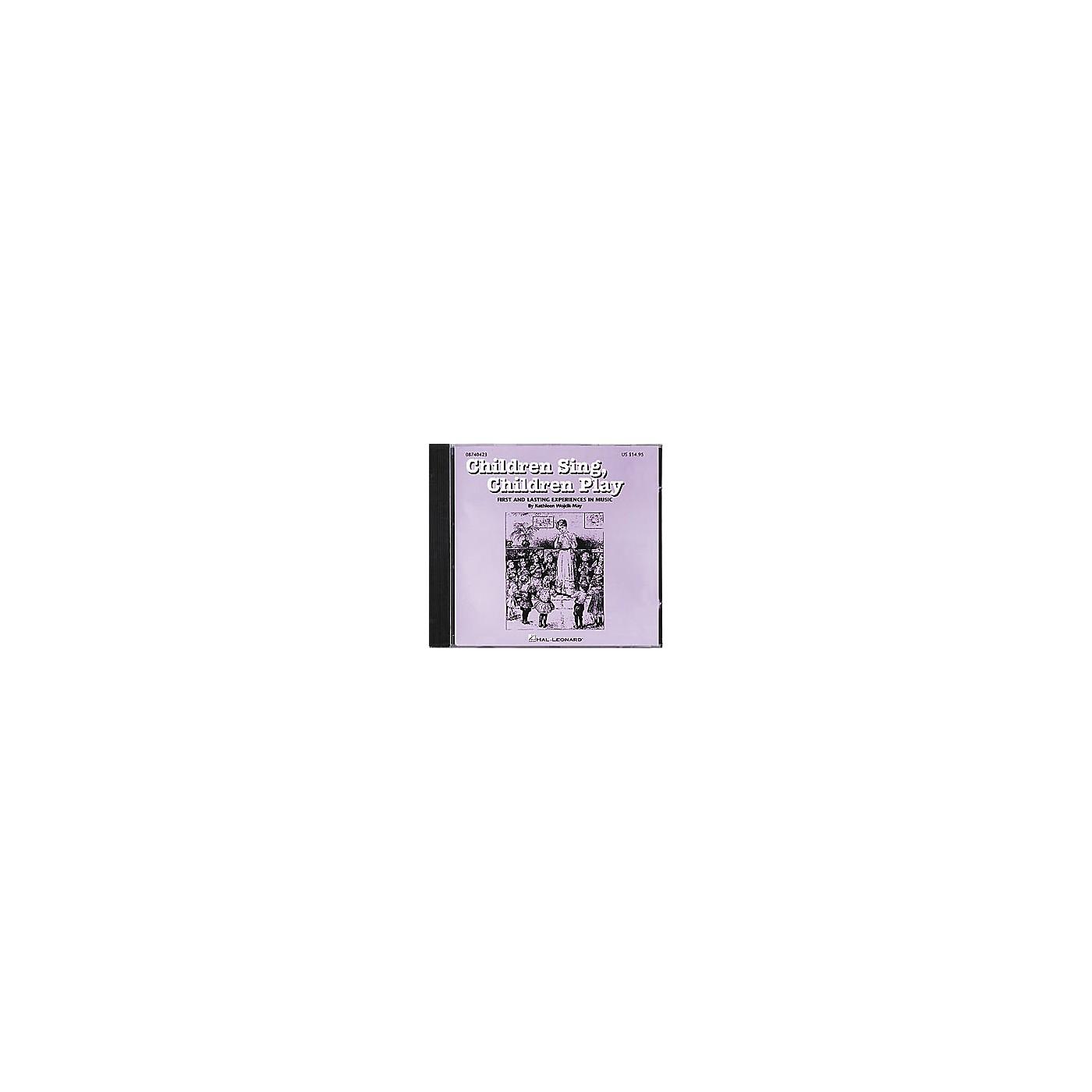 Hal Leonard Children Sing, Children Play CD thumbnail
