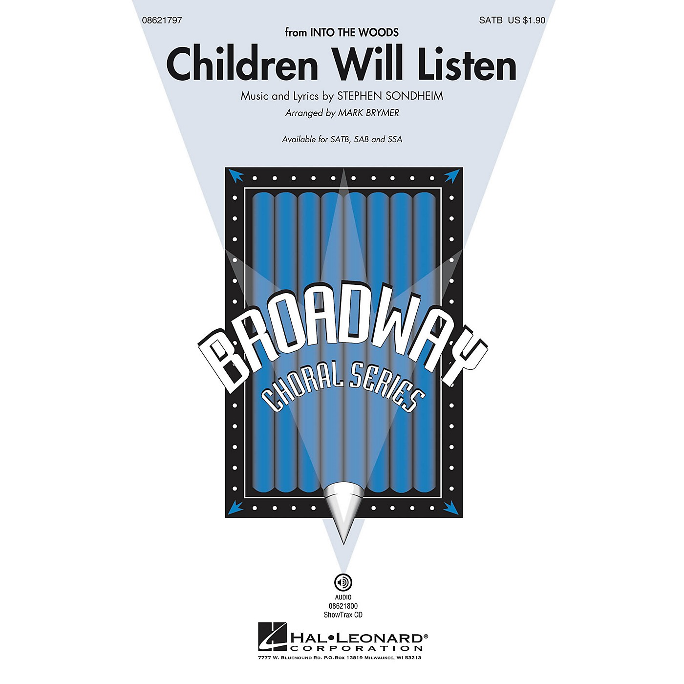 Hal Leonard Children Will Listen (from Into the Woods) SSA Arranged by Mark Brymer thumbnail