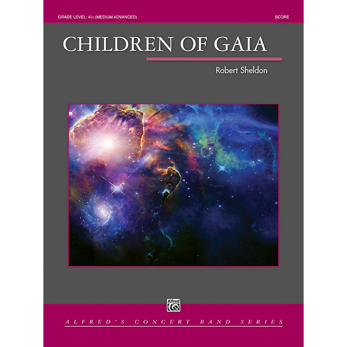 Alfred Children of Gaia Concert Band Grade 4.5 thumbnail
