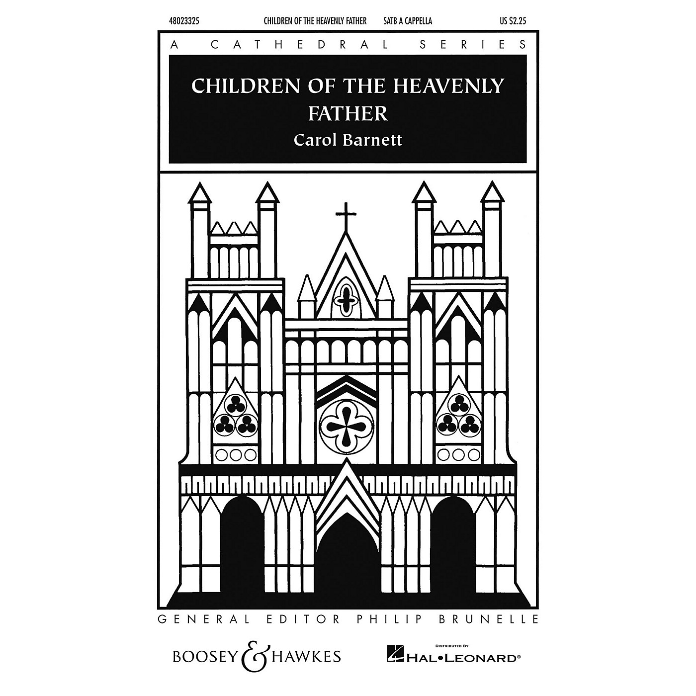 Boosey and Hawkes Children of the Heavenly Father (Cathedral Series) SATB a cappella arranged by Carol Barnett thumbnail
