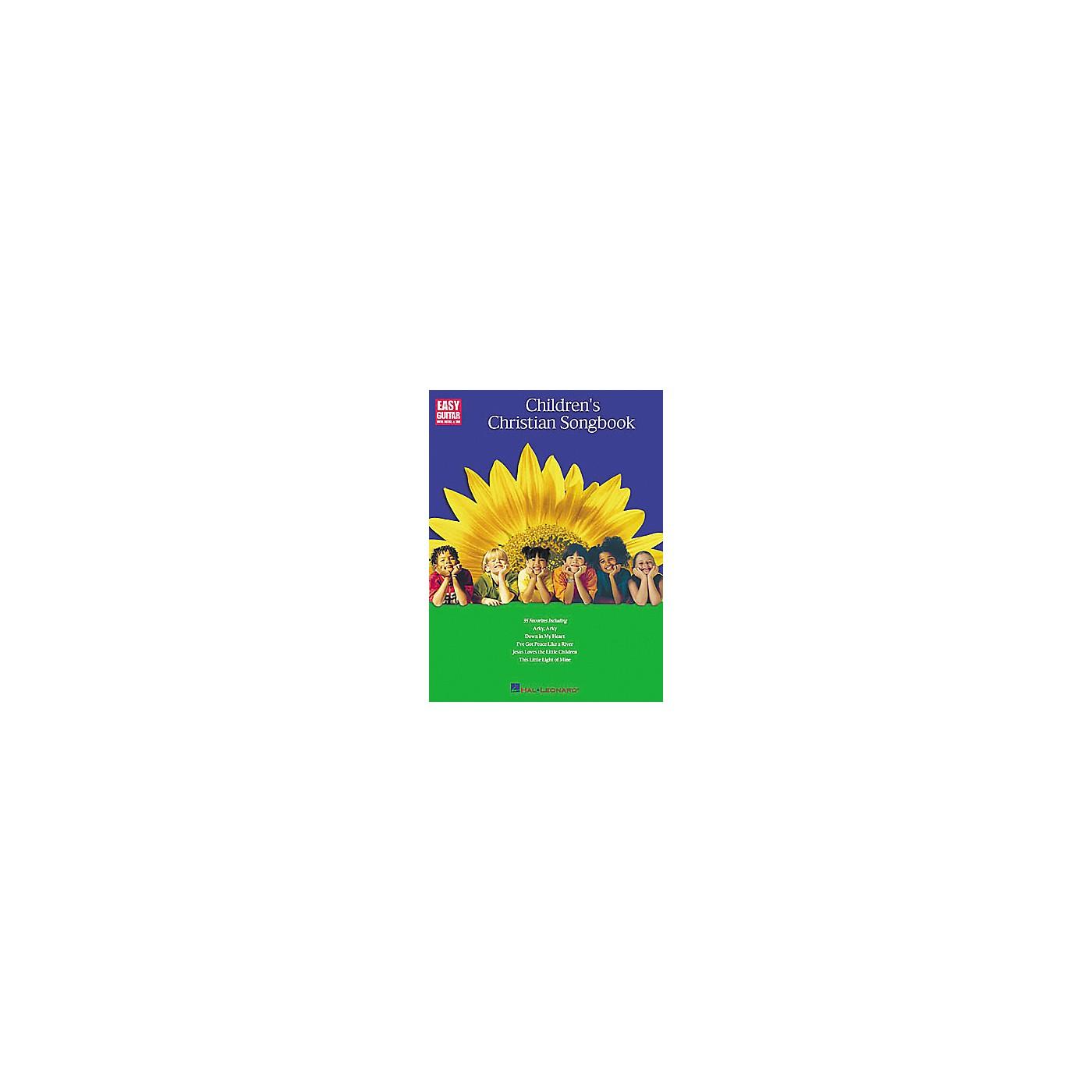 Hal Leonard Children's Christian (Songbook) thumbnail