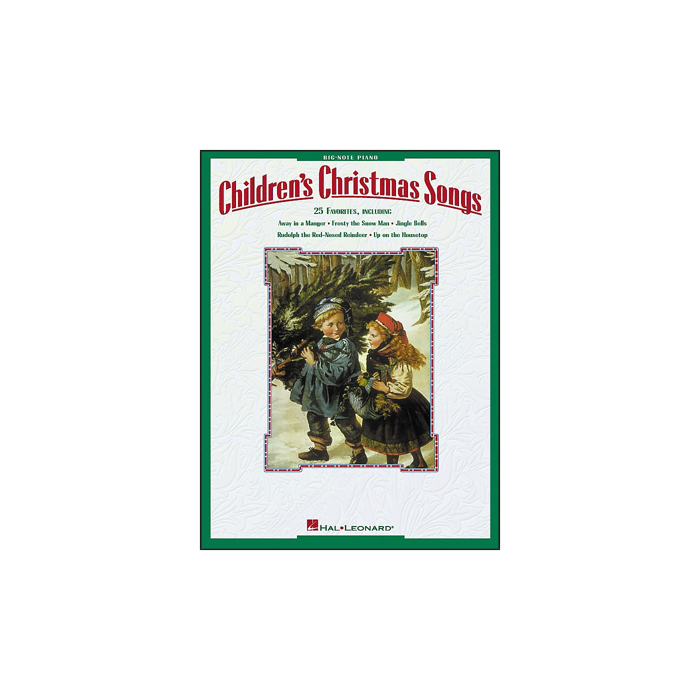 Hal Leonard Children's Christmas Songs for Big Note Piano thumbnail