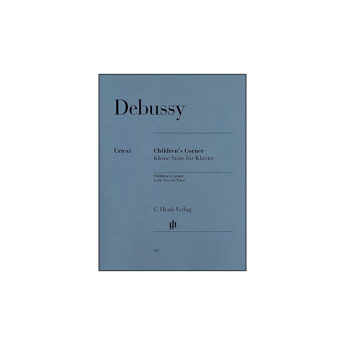 G. Henle Verlag Children's Corner Little Suite for Piano By Debussy thumbnail