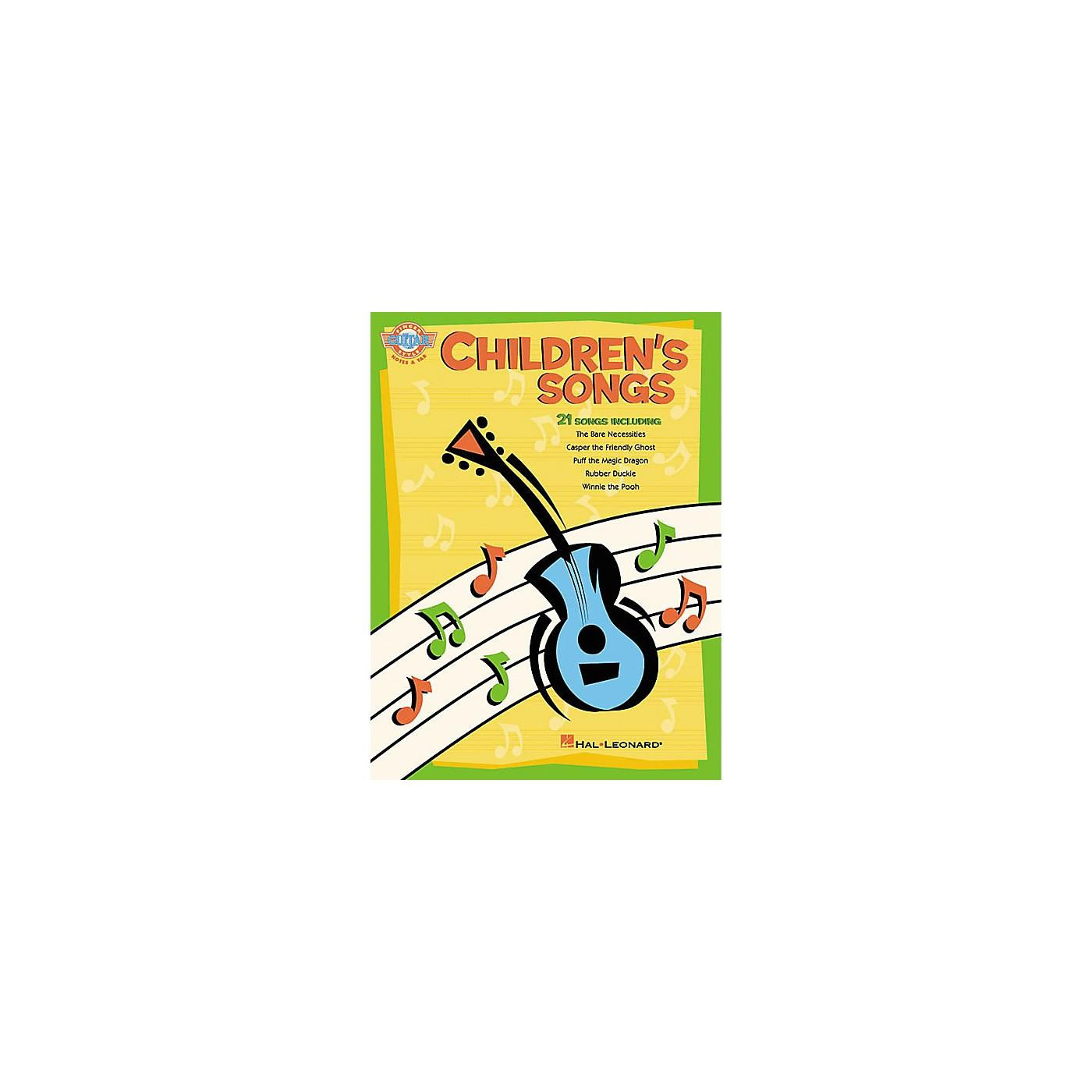 Hal Leonard Children's Songs Fingerstyle Guitar Book thumbnail