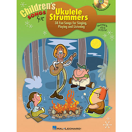 Hal Leonard Children's Songs For Ukulele Strummers Book/CD thumbnail