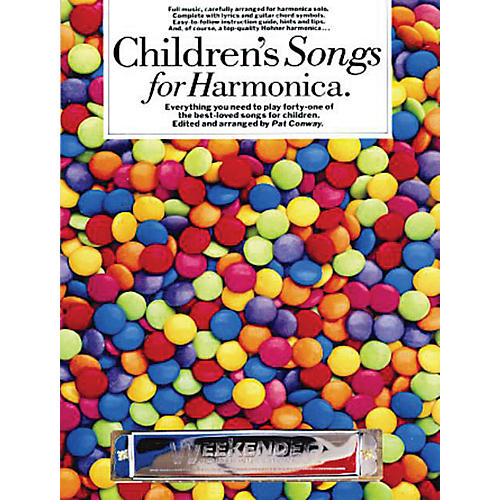 Music Sales Children's Songs for Harmonica Music Sales America Series thumbnail