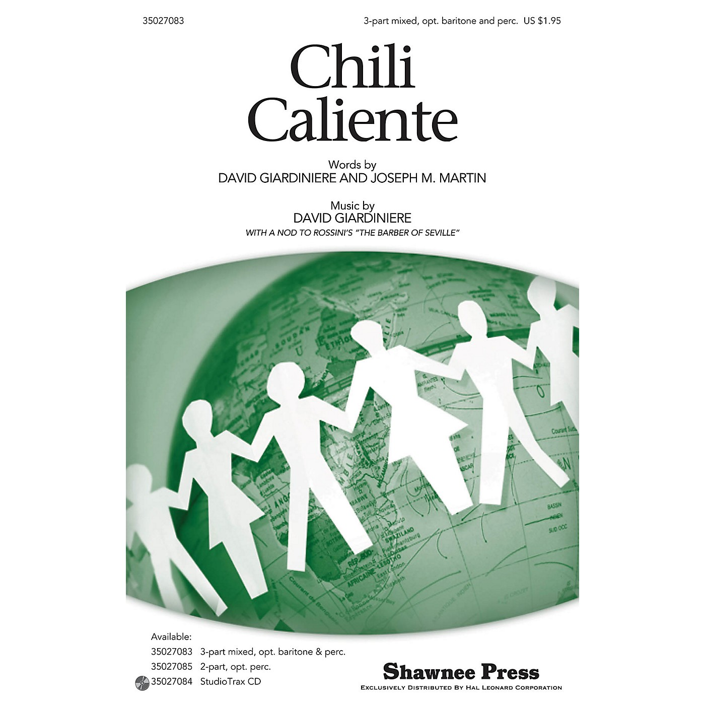 Shawnee Press Chili Caliente 3-PART MIXED composed by Joseph M. Martin thumbnail