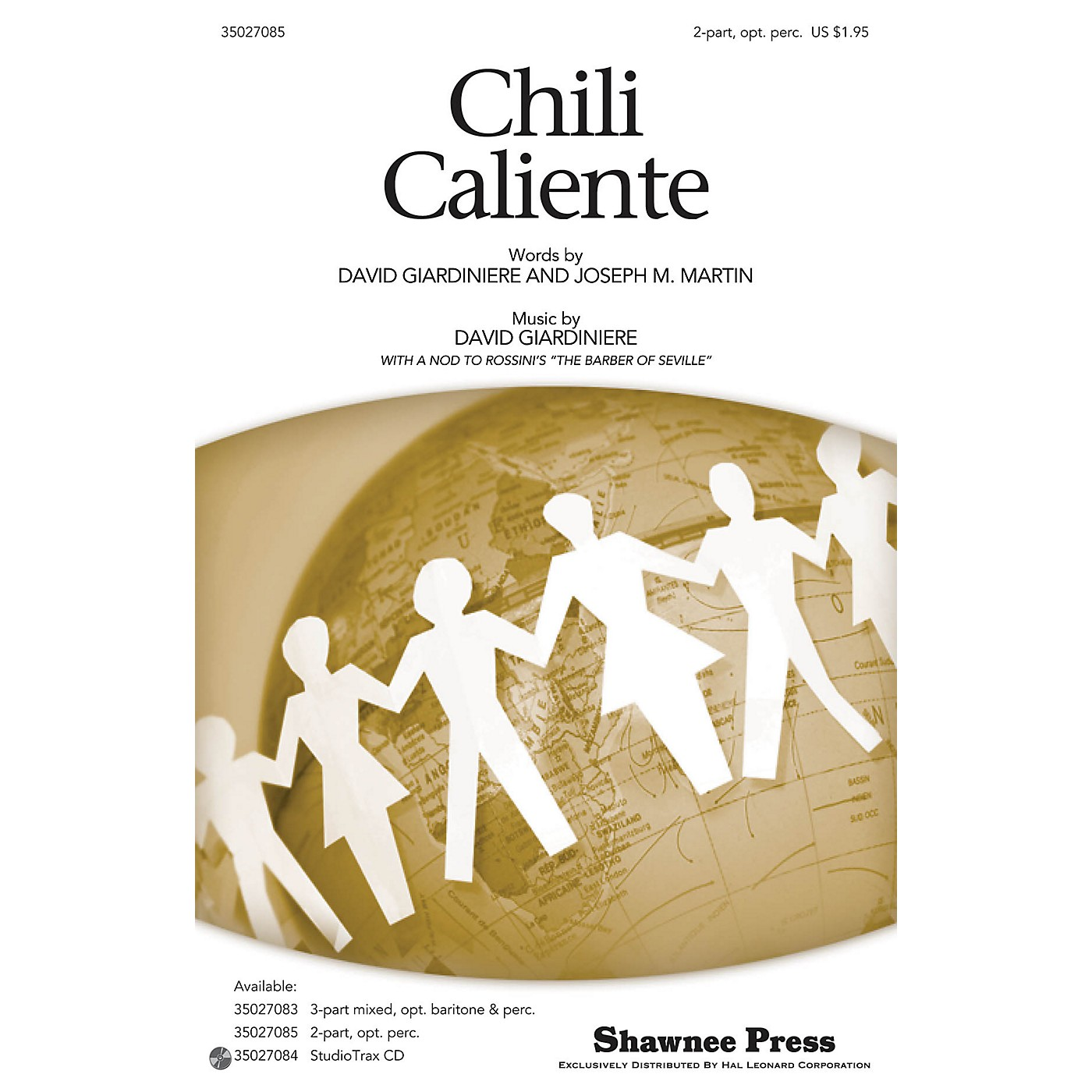 Shawnee Press Chili Caliente (Hot Peppers) 2-PART composed by Joseph M. Martin thumbnail