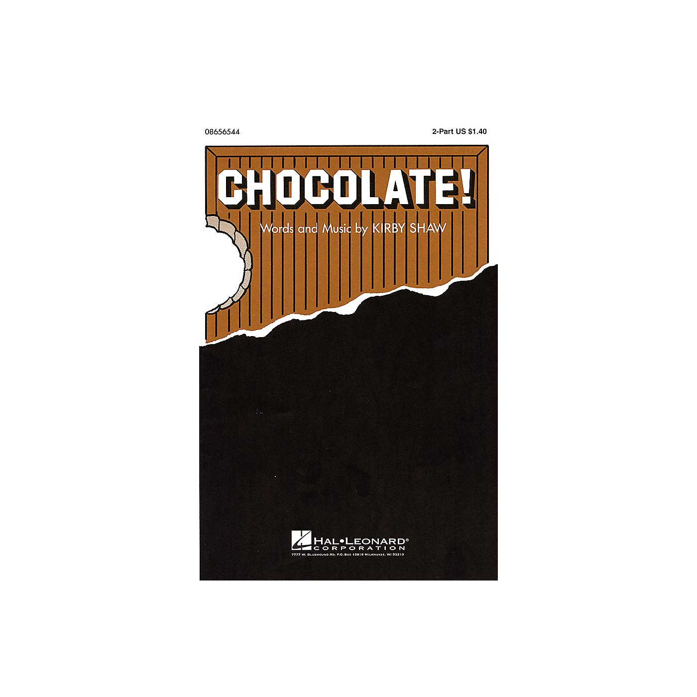 Hal Leonard Chocolate! 2-Part composed by Kirby Shaw thumbnail