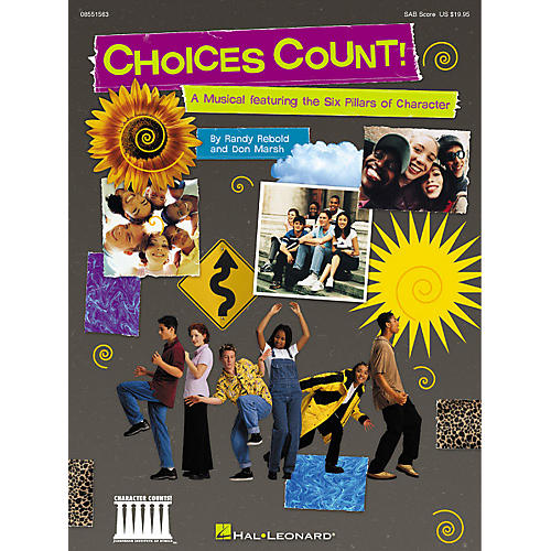 Hal Leonard Choices Count (Musical Revue) (SAB Preview CD) SAB PREV CD Composed by Don Marsh thumbnail