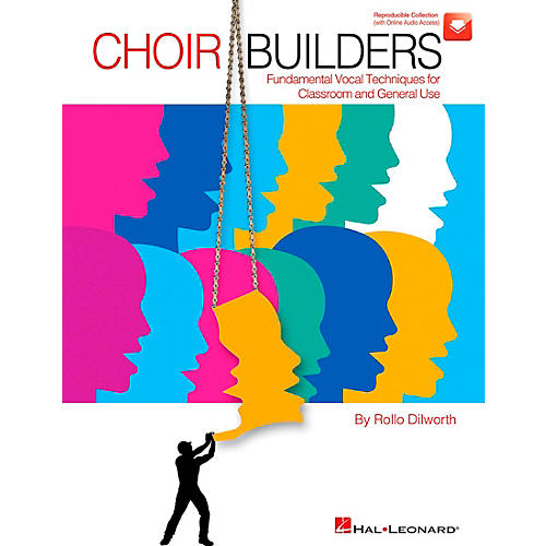 Hal Leonard Choir Builders - Fundamental Vocal Techniques for Classroom and General Use Book/CD thumbnail
