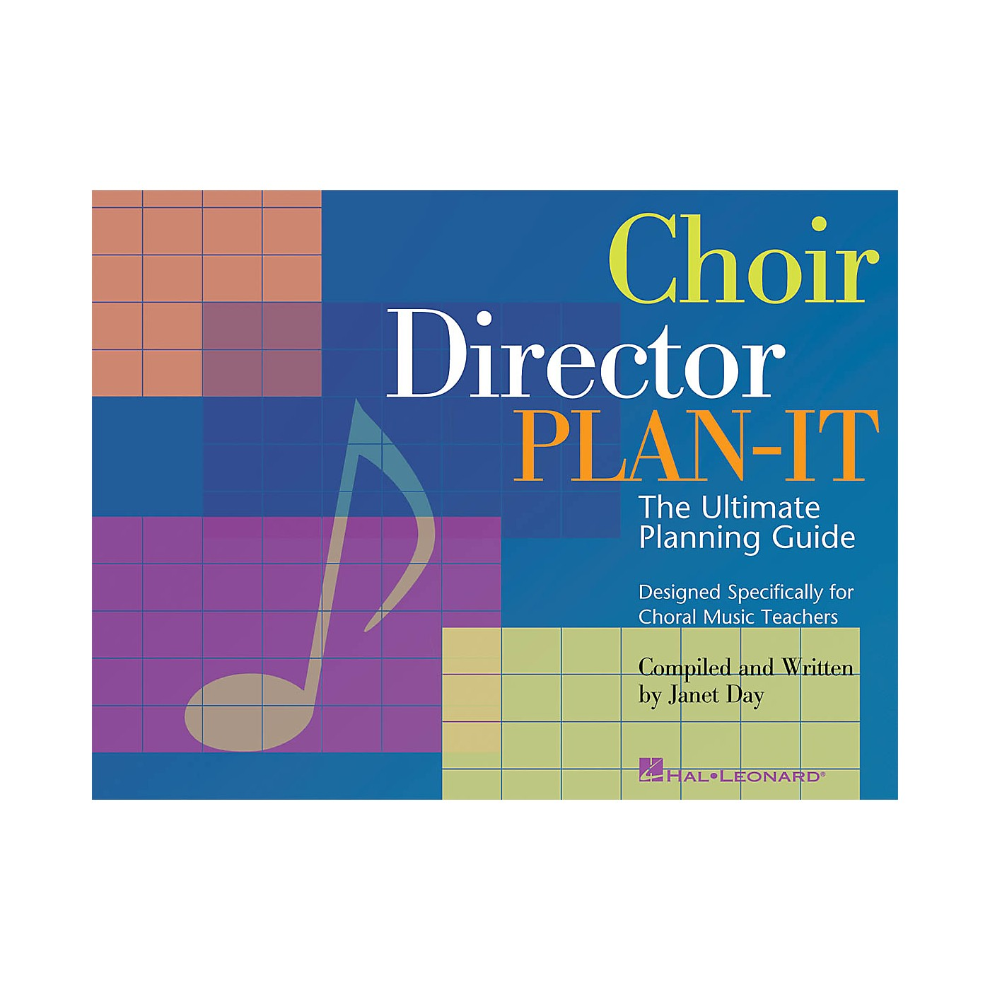 Hal Leonard Choir Director Plan-It (The Ultimate Planning Guide for Choral Music Teachers) RESOURCE BK thumbnail