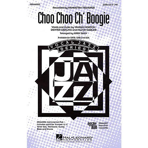 Hal Leonard Choo Choo Ch'Boogie Combo Parts by The Manhattan Transfer Arranged by Kirby Shaw thumbnail