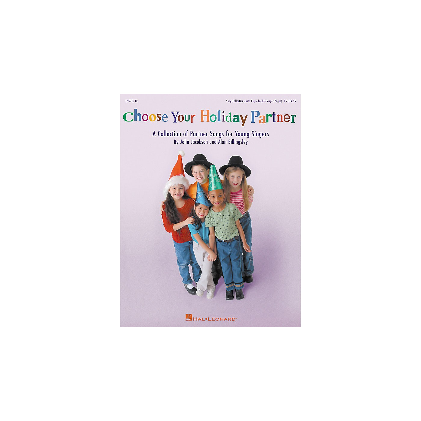 Hal Leonard Choose Your Holiday Partner (Collection) (ShowTrax CD) ShowTrax CD Composed by John Jacobson thumbnail