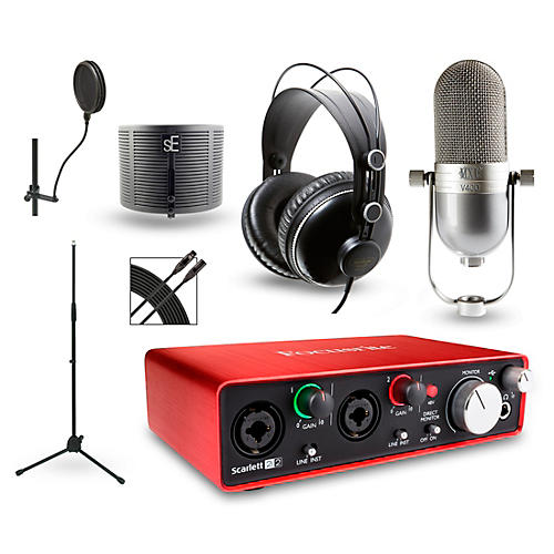 Focusrite Choose Your Mic Recording Package with Scarlett 2i2 and MH310 Headphones thumbnail