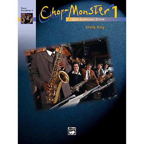 Alfred Chop-Monster Book 1 Baritone Saxophone Book & CD thumbnail