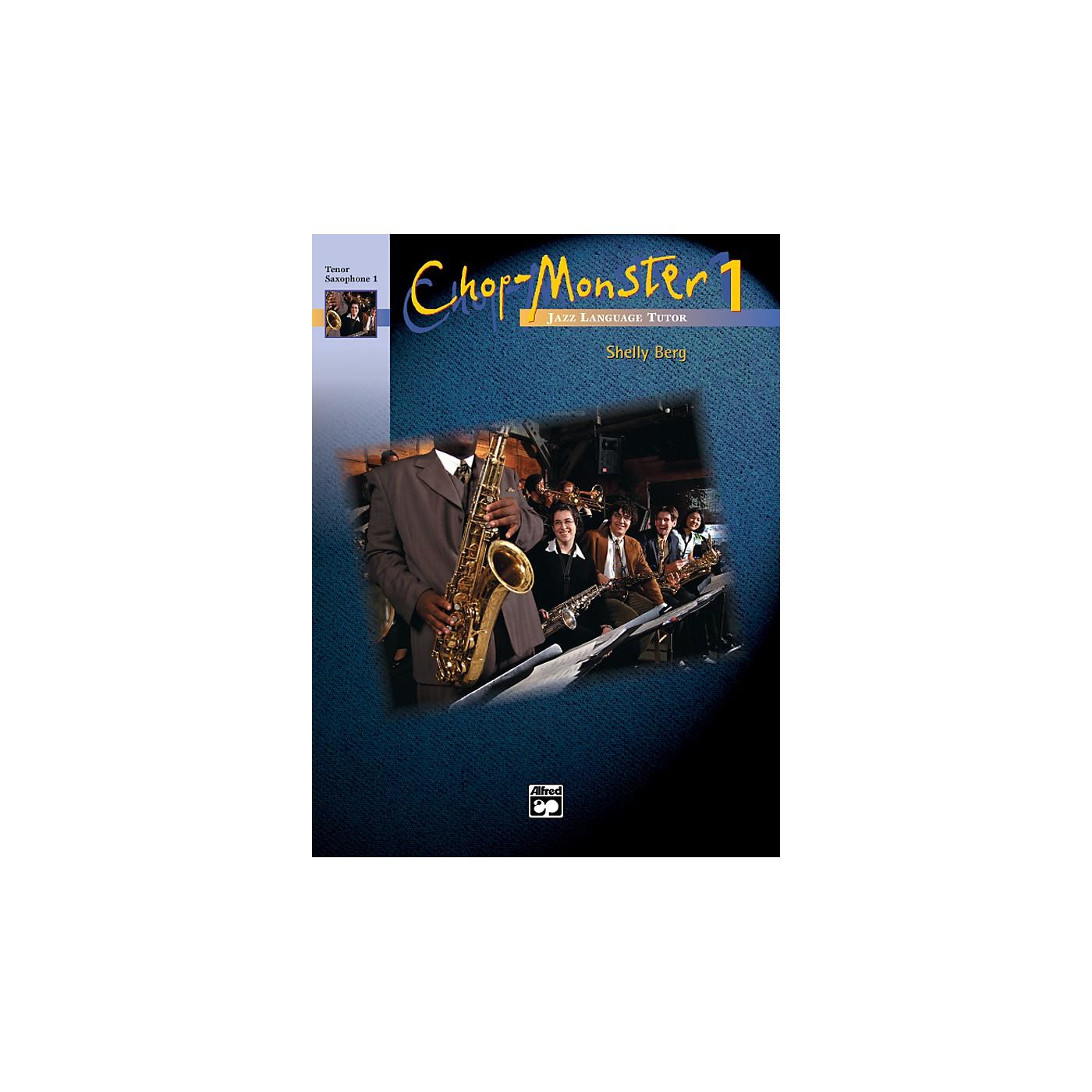 Alfred Chop-Monster Book 1 Baritone Saxophone Book thumbnail