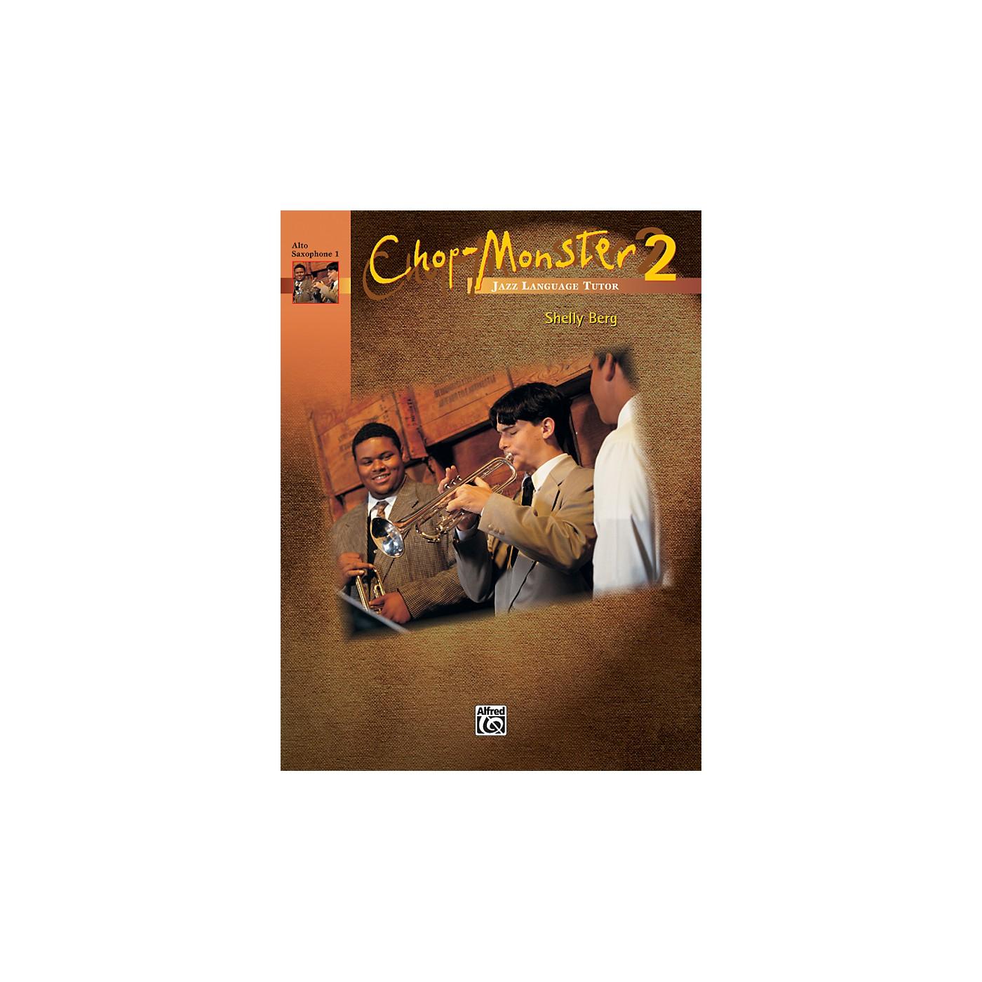 Alfred Chop-Monster Book 2 Alto Saxophone 1 Book thumbnail