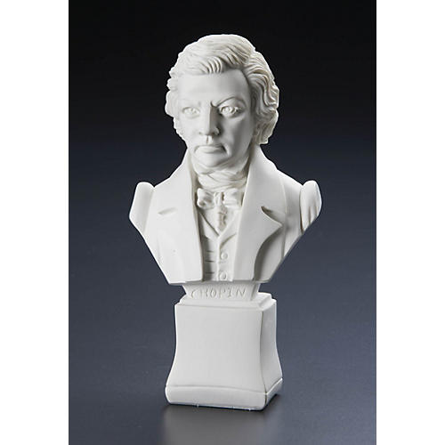 Willis Music Chopin 7 inch. (Composer Statuette) Willis Series thumbnail