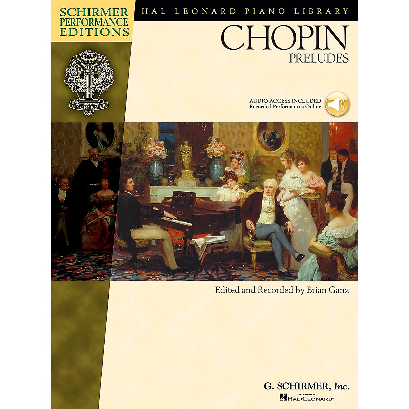 G. Schirmer Chopin Preludes Book/CD - Schirmer Performance Edition By Chopin / Ganz thumbnail