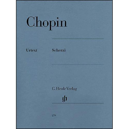 G. Henle Verlag Chopin Scherzos Opus 20 Scherzi Urtext By Chopin / Zimmermann thumbnail