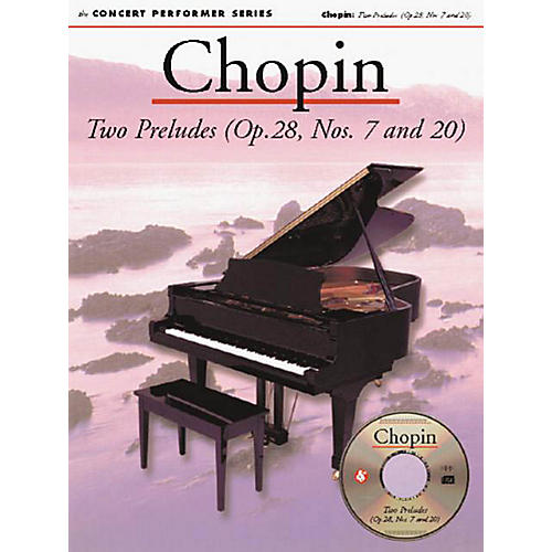 Music Sales Chopin: Two Preludes (Op. 28, Nos. 7 and 20) Music Sales America Series Softcover with disk thumbnail
