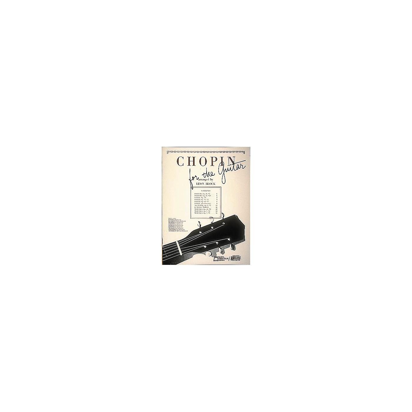 Edward B. Marks Music Company Chopin for Guitar Book thumbnail