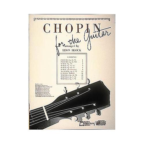 Edward B. Marks Music Company Chopin for Guitar Book-thumbnail