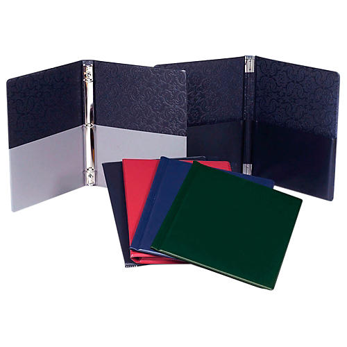 Marlo Plastics Choral Folder 9-1/4 x 12 with 7 Elastic Stays and 2 Expanded Horizontal Pockets thumbnail