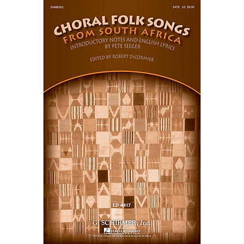 G. Schirmer Choral Folk Songs from South Africa (Collection) SATB thumbnail