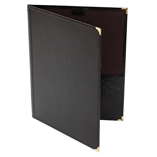 Deer River Choral Leatherette Folio With Pencil Loop Bottom Pockets thumbnail