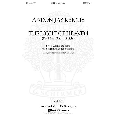 Associated Choral Movements from Garden of Light (No. 2 - The Light of Heaven) SATB composed by Aaron Jay Kernis thumbnail