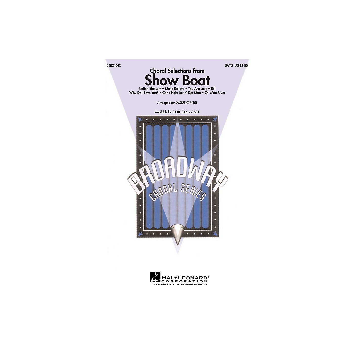 Hal Leonard Choral Selections from Show Boat SATB composed by Jerome Kern thumbnail
