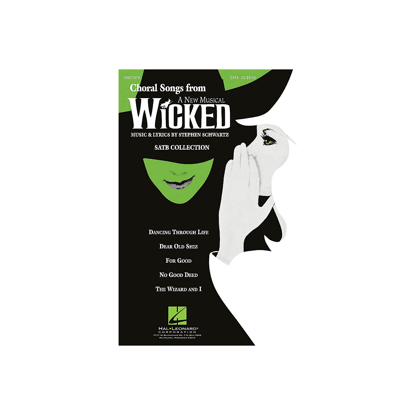 Hal Leonard Choral Songs from Wicked (SATB Collection) ShowTrax CD Arranged by Ed Lojeski thumbnail