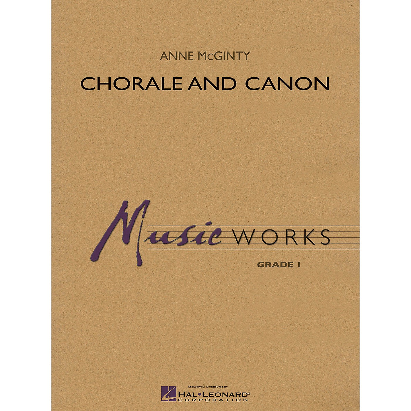 Hal Leonard Chorale and Canon Concert Band Level 1 Composed by Anne McGinty thumbnail