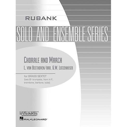 Rubank Publications Chorale and March (Brass Sextet - Grade 3) Rubank Solo/Ensemble Sheet Series thumbnail