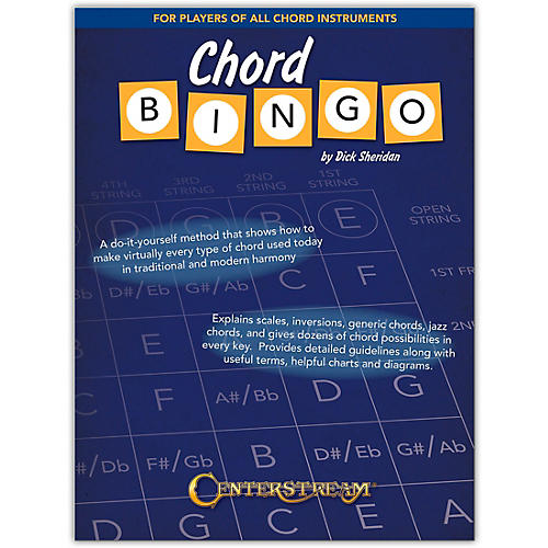 Centerstream Publishing Chord Bingo For Players of All Chord Instruments thumbnail