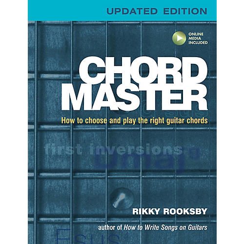 Backbeat Books Chord Master Book Series Softcover Audio Online Written by Rikky Rooksby thumbnail
