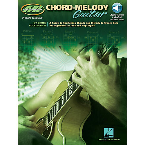 Musicians Institute Chord-Melody Guitar Musicians Institute Press Series Softcover with CD Written by Bruce Buckingham thumbnail
