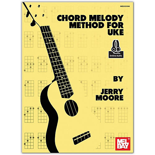 Mel Bay Chord Melody Method for Uke (Book/Online Audio) thumbnail