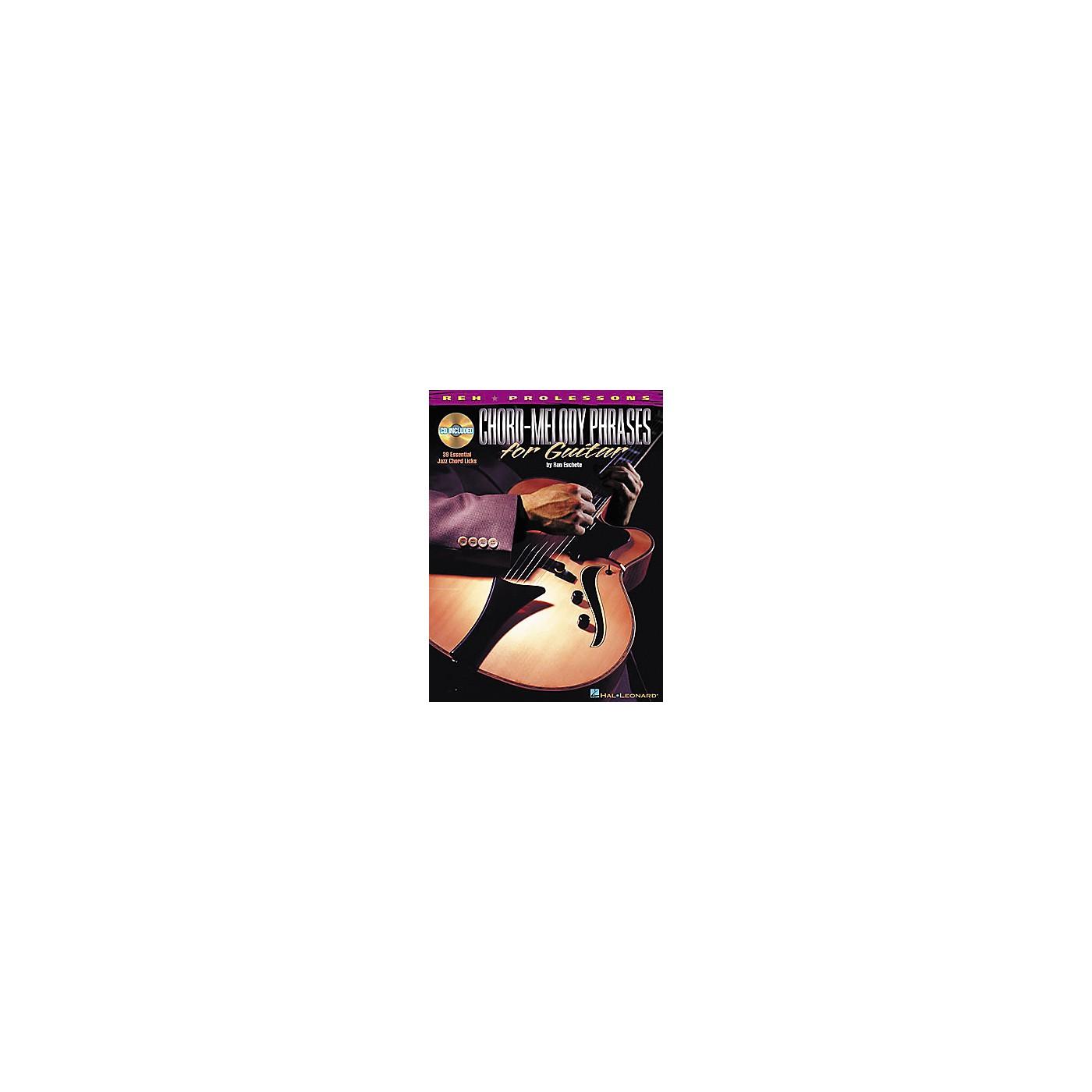 REH Chord-Melody Phrases for Guitar (Book/CD) thumbnail