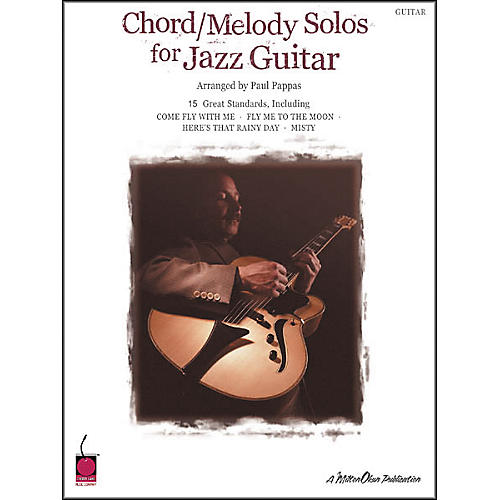 Cherry Lane Chord/Melody Solos for Jazz Guitar Book-thumbnail