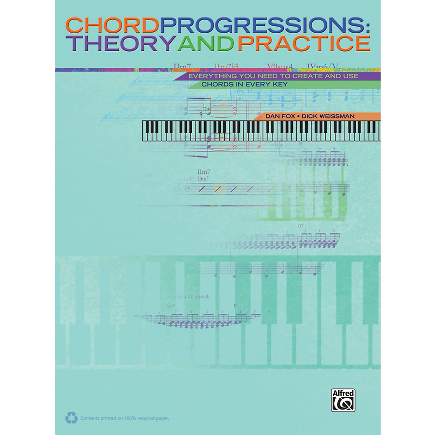 Alfred Chord Progressions Theory and Practice Book thumbnail
