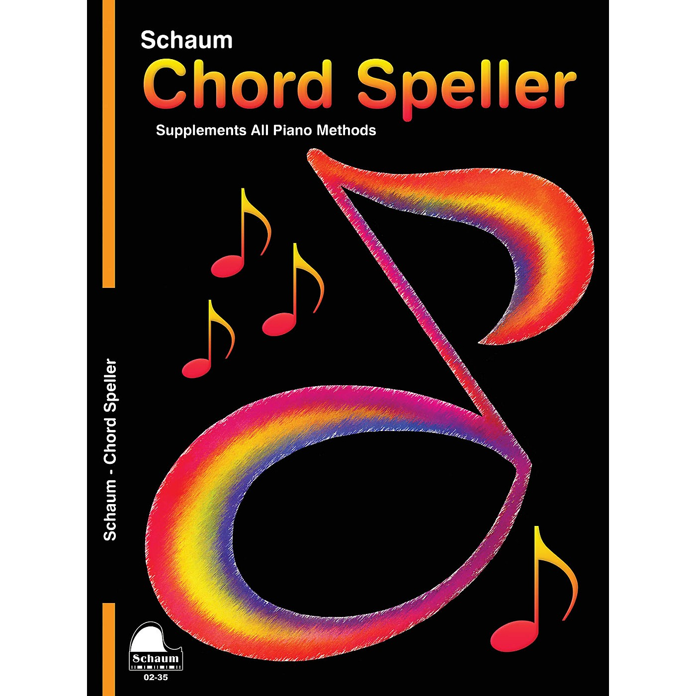 SCHAUM Chord Speller Educational Piano Book (Level 5) thumbnail