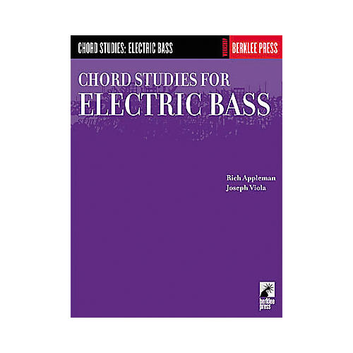 Hal Leonard Chord Studies for Electric Bass Book thumbnail