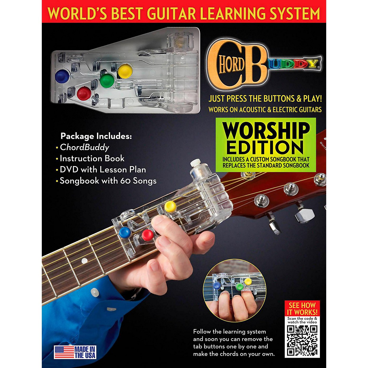 Perry's Music ChordBuddy Guitar Learning System  Worship Edition thumbnail