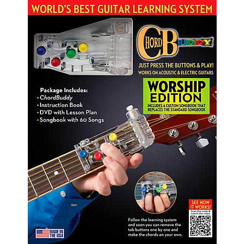 ChordBuddy Guitar Learning System Worship Edition - WWBW