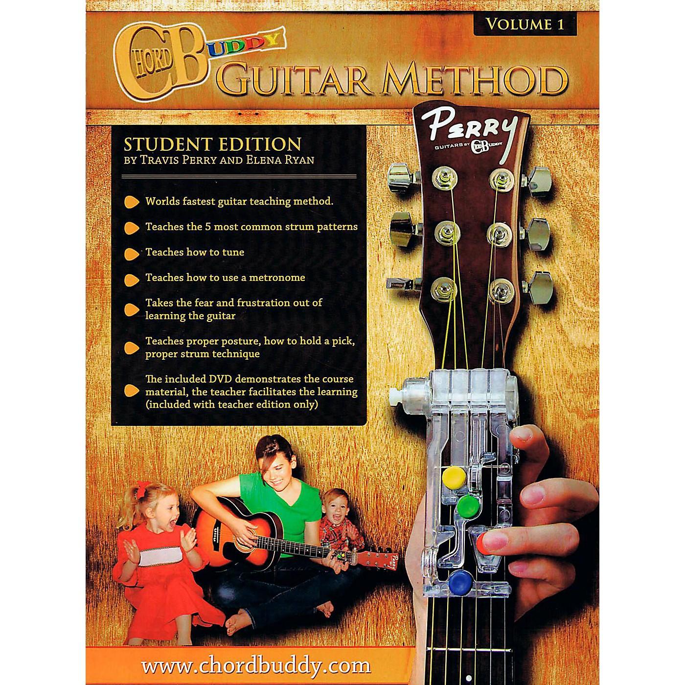 Perry's Music ChordBuddy Guitar Method Volume 1 Student Book thumbnail